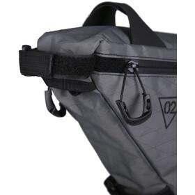 WOHO X-Touring Frame Bag L honeycomb iron grey